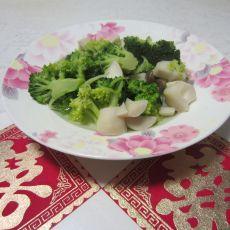 西兰花菌菇汤