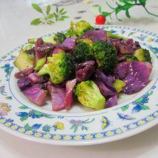 小炒双色蔬菜