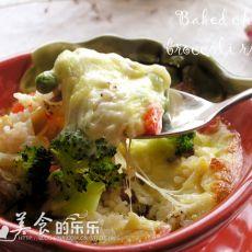 西兰花蘑菇�h饭