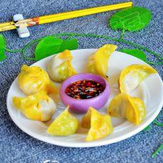 彩色烫面蒸饺