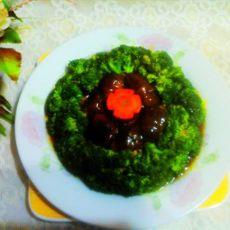 香菇扒西蓝花