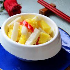菠萝炒年糕