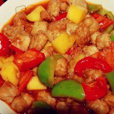 菠萝古老肉――秀色可餐