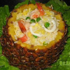 海鲜菠萝炒饭