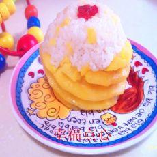 菠萝蜜汁糯米饭的做法