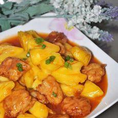 菠萝咕噜肉的做法