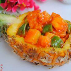 素菠萝咕�K肉