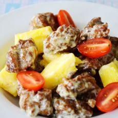 菠萝咖喱酥脆排骨