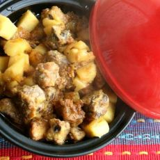 塔吉锅版菠萝排骨