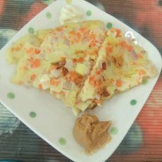 菠萝蔬菜饼