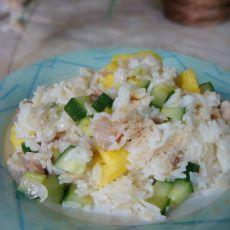 菠萝鸡粒炒饭