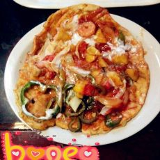 第一次做的披萨