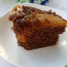 菠萝布朗尼蛋糕