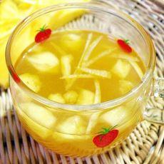 菠萝香蜜茶