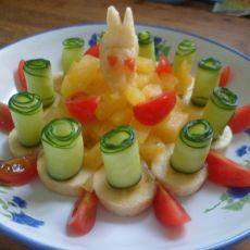 果蔬拼盘的做法