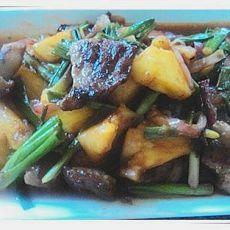 甜酸菠萝猪颈肉