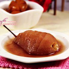 红酒煮梨的做法