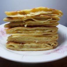 牛奶鸡蛋香蕉松饼的做法