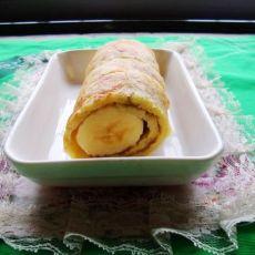 香蕉鸡蛋饼的做法