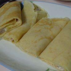 蛋香脆皮香蕉卷