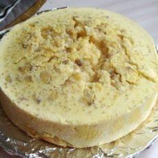 香蕉风味蛋糕