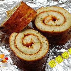 酸奶香蕉蛋糕卷