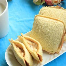 香蕉色拉三明治