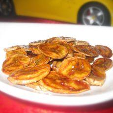 蜂蜜烤香蕉片