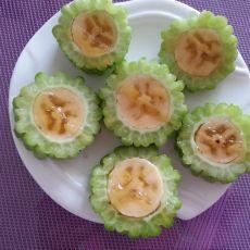 苦瓜酿香蕉