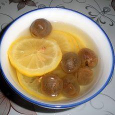 桂圆柠檬水