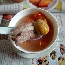 木瓜栗子排骨汤