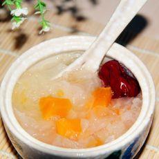 木瓜银耳红枣汤的做法