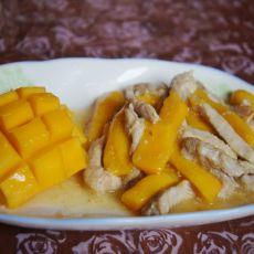 木瓜炒鸡柳的做法