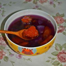 木瓜紫薯汤