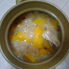 雪耳杏仁木瓜汤