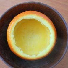 鲜橙蒸鸽子蛋的做法