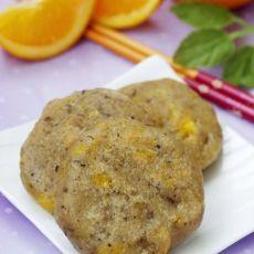 美味香橙豆渣饼