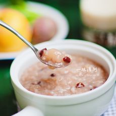 荔枝红豆粥