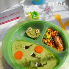 小蝌蚪找妈妈――用食物给宝宝讲童话故事