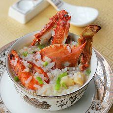 三鲜海蟹粥