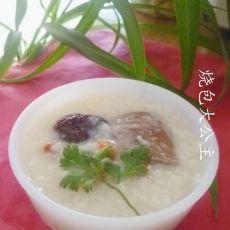 红枣鸽子肉粥