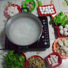 粥底养生火锅的做法