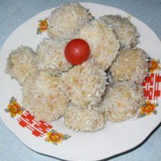 大米做的珍珠丸子