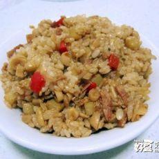 培根土豆菌菇焖饭