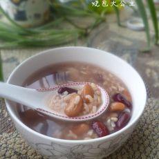 芸豆糙米粥的做法