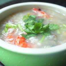 黄鳝海虾粥的做法