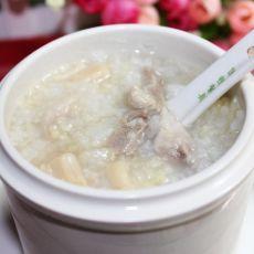 瑶柱瘦肉二米粥