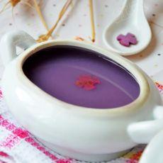 紫薯米豆浆