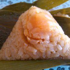 咸蛋黄粽子
