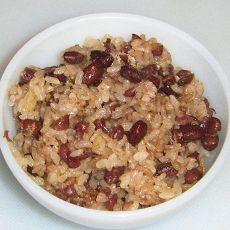 蜜红豆糯米饭